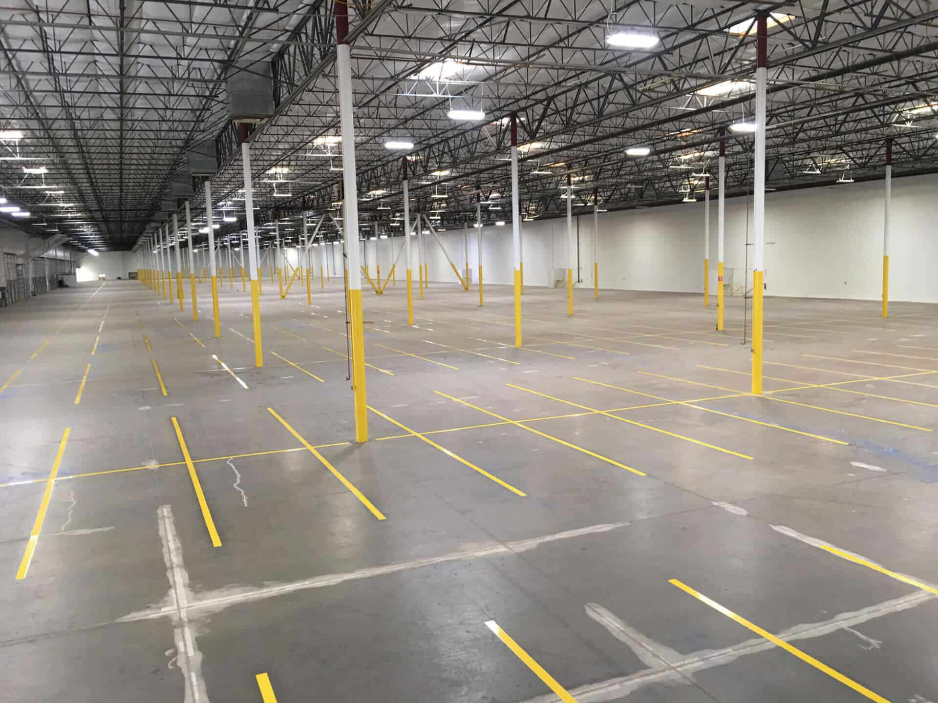 warehouse striping tape