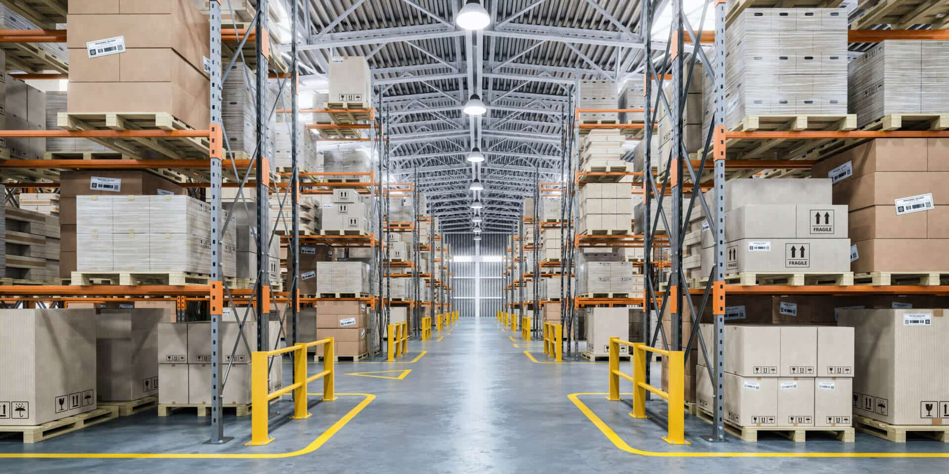commercial warehouse striping services