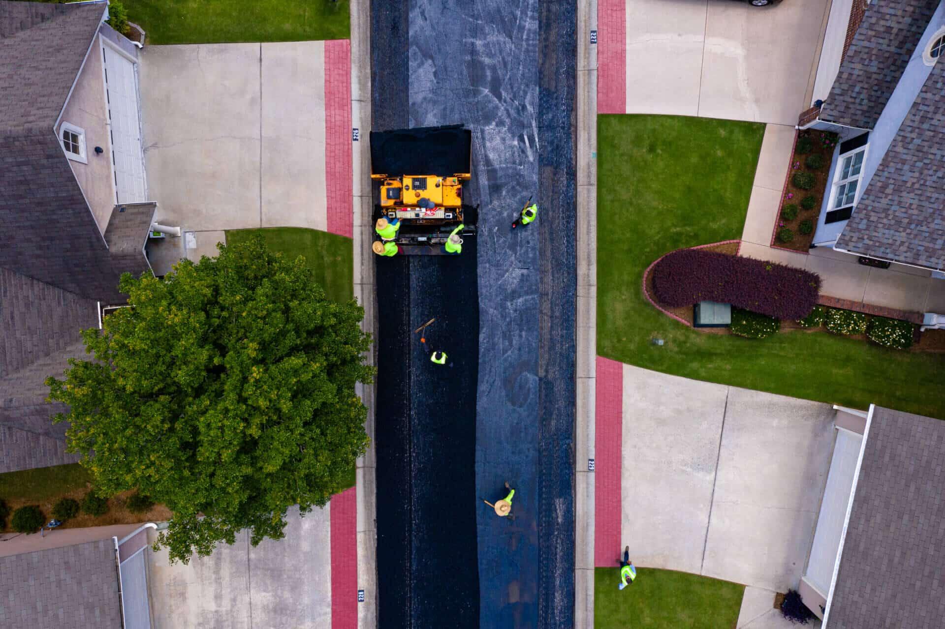 asphalt paving professionals