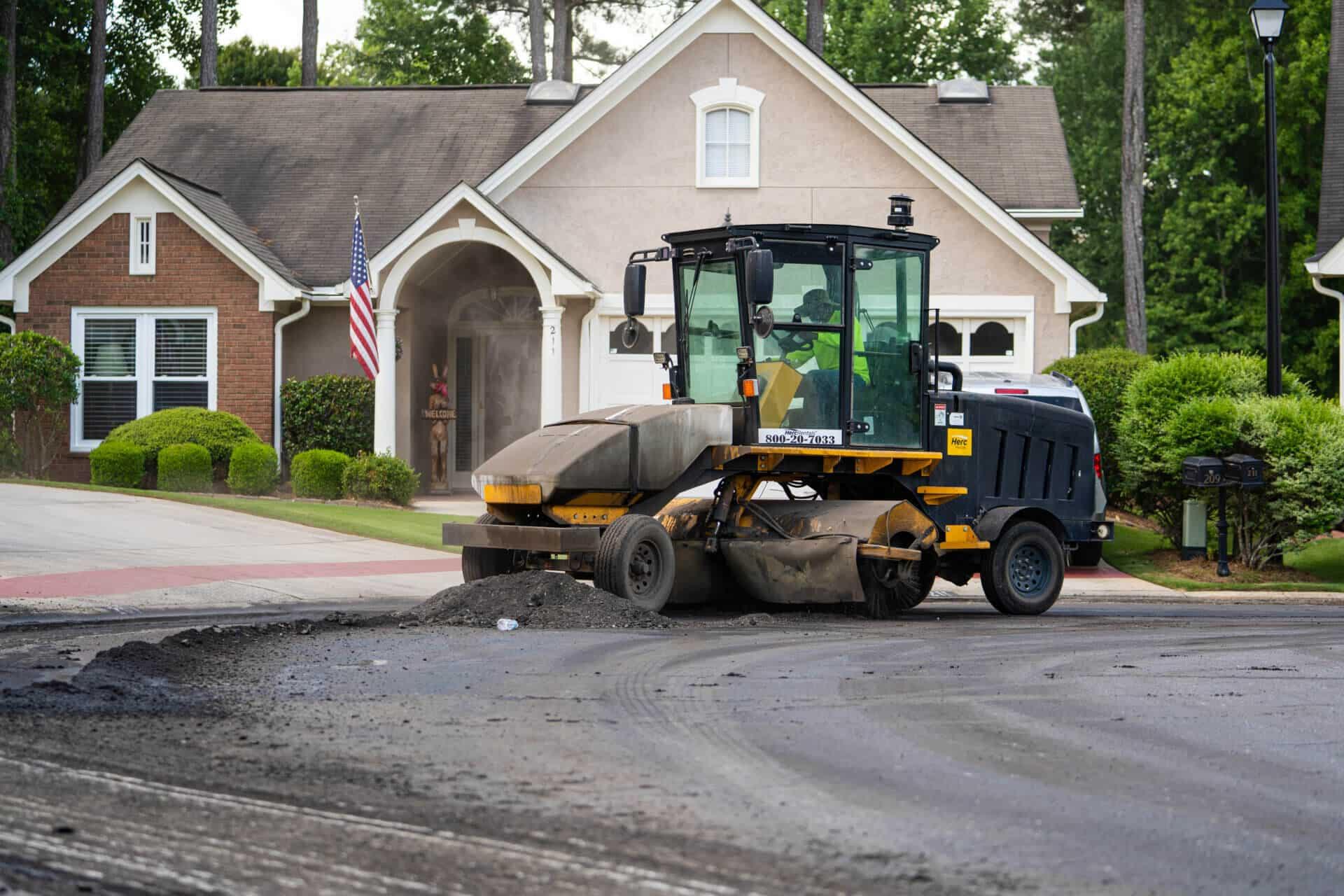 concrete asphalt paving
