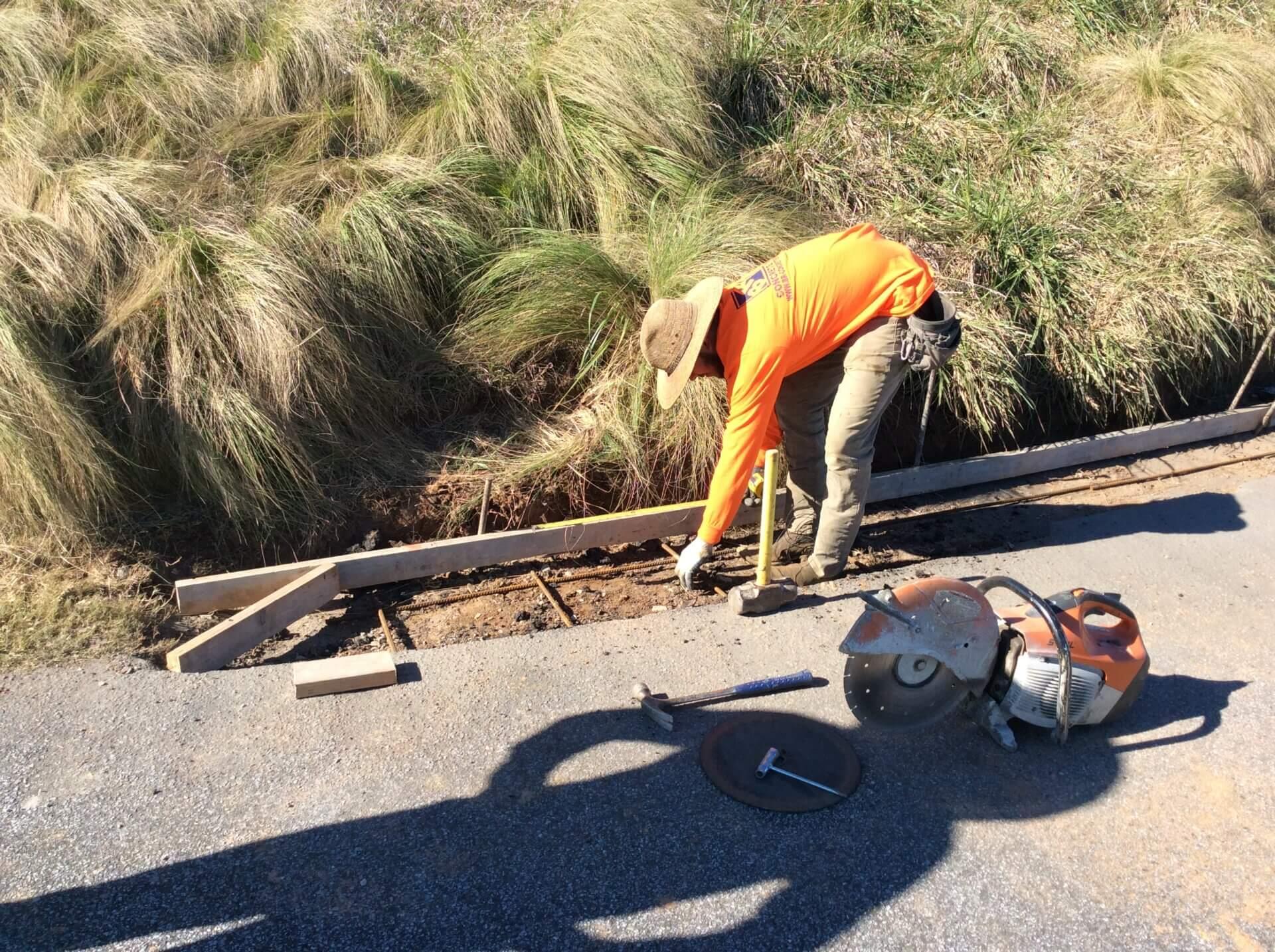 commercial concrete repairs