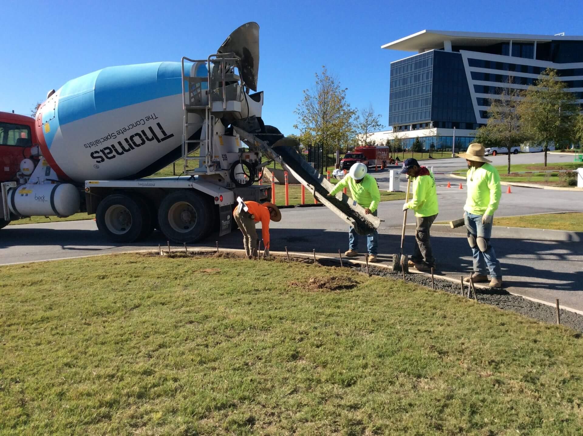 commercial concrete repair service
