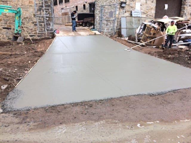 concrete crack sealing