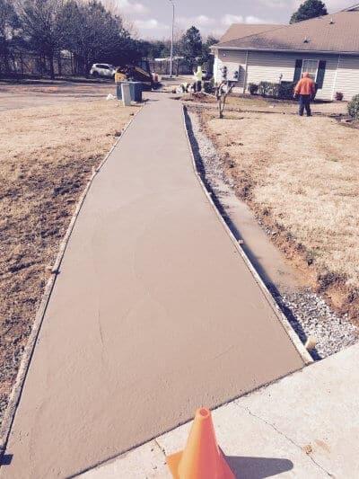 concrete edging contractors