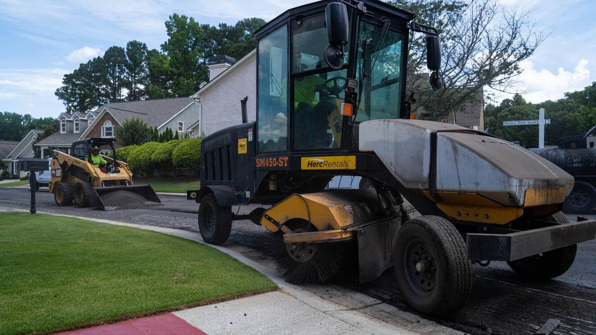 industrial asphalt paving company
