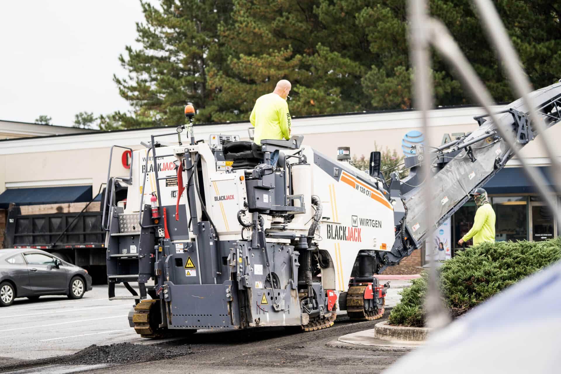 asphalt pavement milling