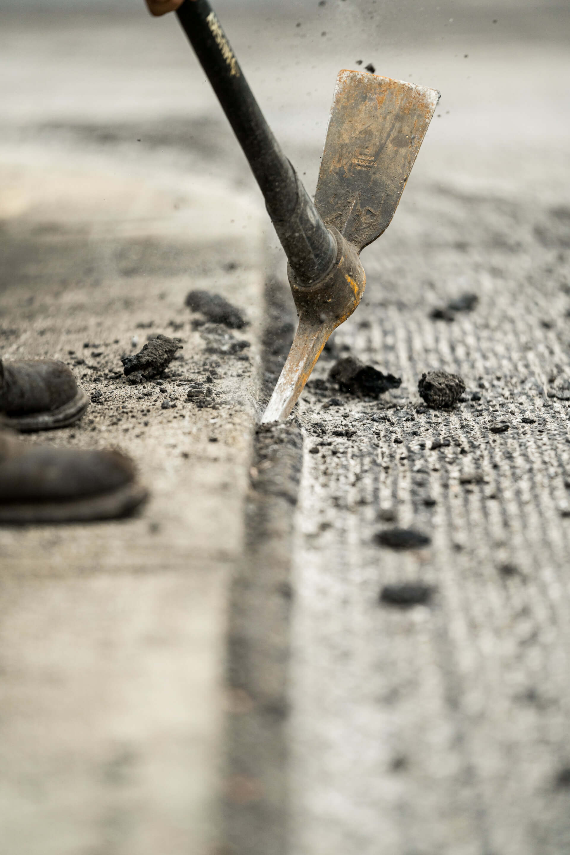 milling and paving process